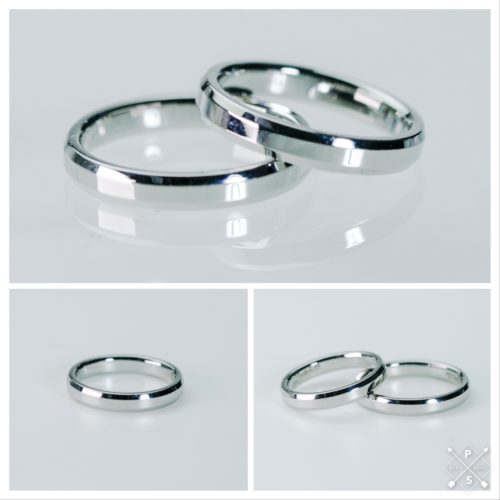 しっかりボリュームの丈夫なマリッジリング*結婚指輪