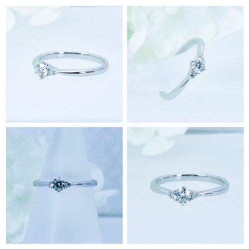 可憐でキュートな永遠に愛せるダイヤモンドリング