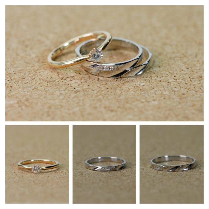 ブライダル 「結婚指輪+1アイテム」お得な3点セットプラン
