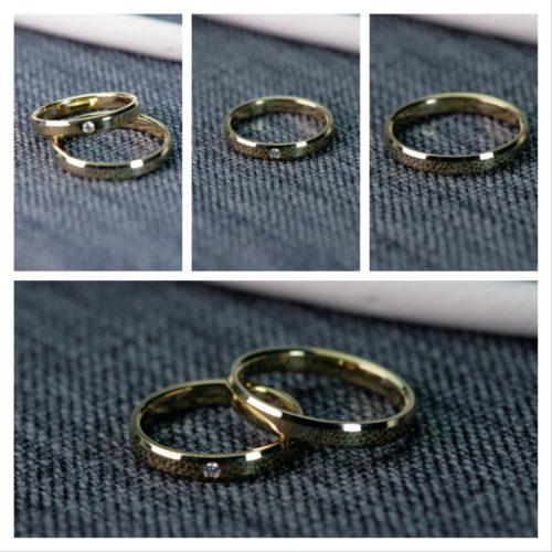 ゴールドのマリッジリング*結婚指輪