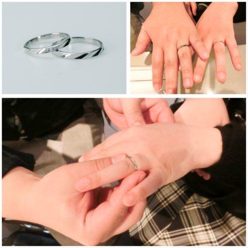 2人のマリッジリング*結婚指輪