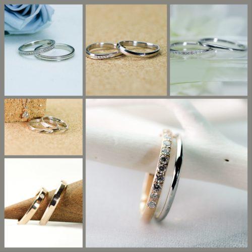 ジュエリーシモンのマリッジリング*結婚指輪