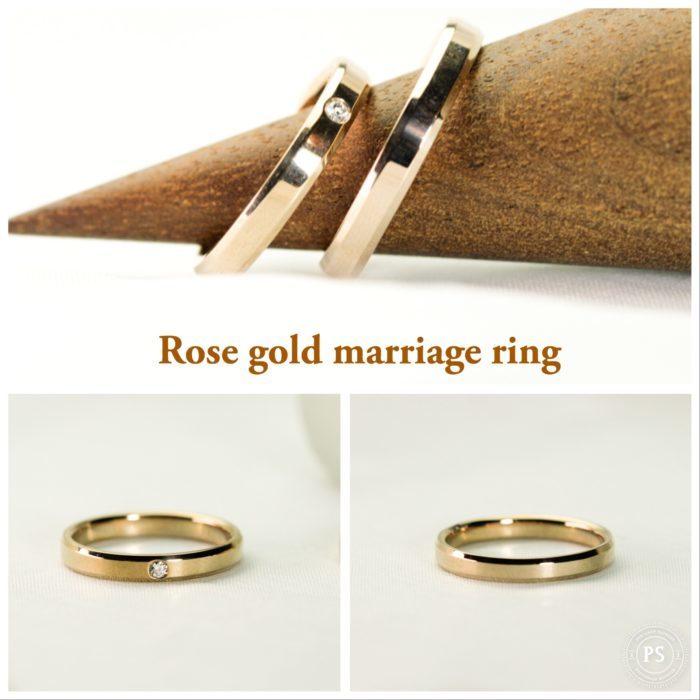 2人7万〜10万円で揃えるおしゃれな正統派結婚指輪