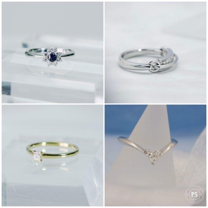10万円で買える上質ダイヤモンドリング