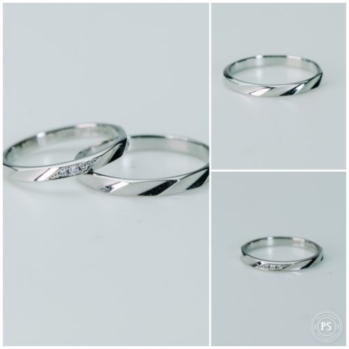 Pt900のマリッジリング*結婚指輪