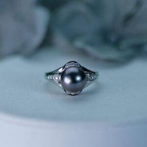 プラチナ南洋真珠 サイズ直し