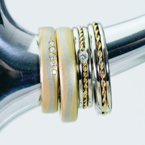 機能性と美しさのドイツ製、スイス製のマリッジリング