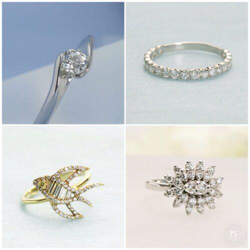 大人のダイヤモンドリング